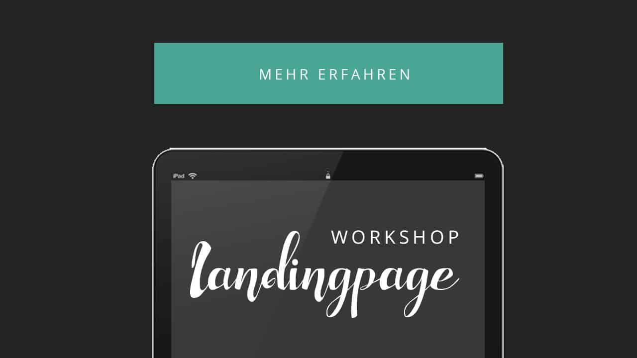 Workshop: Die Perfekte Landingpage