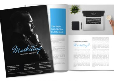 Kickstart Magazin Marketing