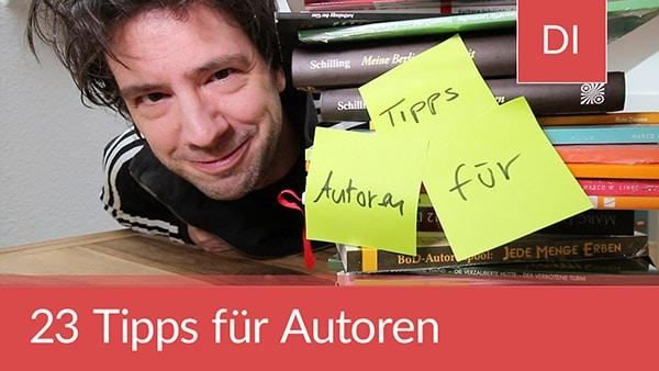 23 Tipps für Autoren und Autorinnen (Mein Leipziger Buchmesse Report)